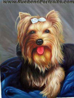 Pet Oil Portrait