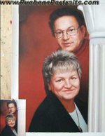 Couple Oil Portrait