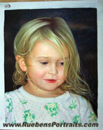 Child Art Portrait